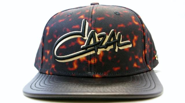 CAZAL CAP(カザール キャップ)カラー黒  正面画像