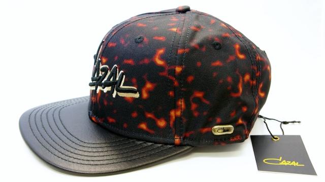 CAZAL CAP(カザール キャップ)カラー黒  ロゴ付画像