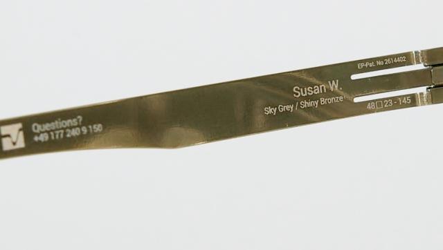 ic ! berlin  (アイシーベルリン) Susan W. カラーshiny-bronze/sky-grey I-125T 品番画像