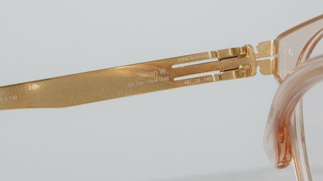 ic ! berlin  (アイシーベルリン) Susan W. カラーRose-Gold-Ice-Tea/Mittwoch I-127T 品番画像