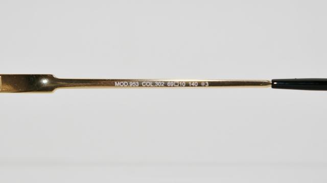 CAZAL(カザール) 953 col.302 レジェンズモデルサングラス P-217T 品番画像