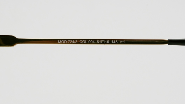 CAZAL(カザール) 724/3 col.004 サングラス P-244T 品番画像