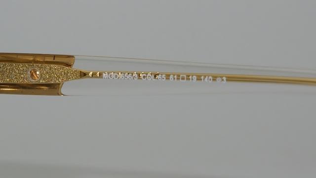 CAZAL(カザール) 656/3 col.065 レジェンズモデルサングラス P-250T 品番画像