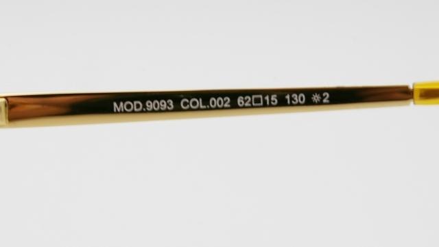 CAZAL(カザール) 9093 col.002 サングラス P-253T 品番画像